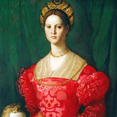Bronzino, Protrait painter of the Medici in late Renaissance Florence