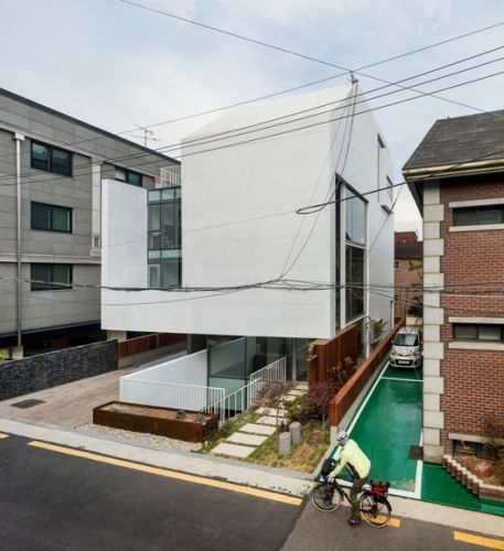 Querencia Neighborhood Facility / L'eau Design + Dongjin Kim