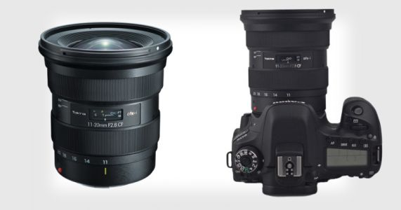 Tokina Unveils New 11-20mm f/2.8 Zoom Lens for Crop Sensor DSLRs