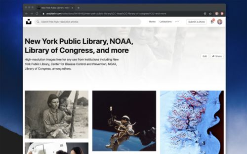 Unsplash Adds Hundreds of Historic Photos from Library of Congress, NYPL, and Others