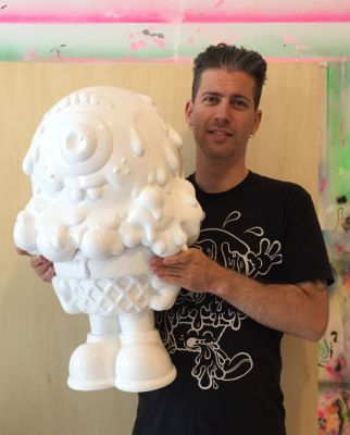 """Preview: Buff Monster """"Melt With Me"""" An Exhibition of Sculptures Opening 02/16/17 NYC"""
