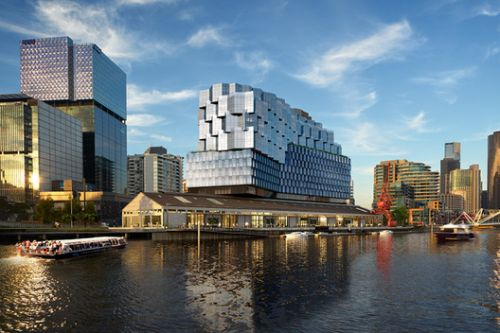 Fender Katsalidis Architects' Northbank Seafarers Place Development Approved