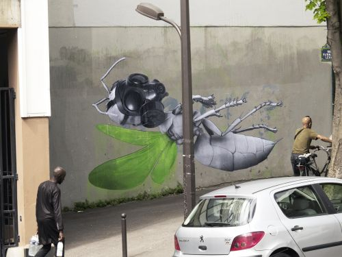 """""""Levitation"""" by Ludo in Paris, France"""