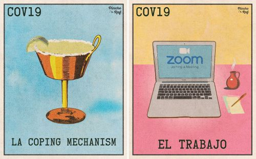 Play a Game of Pandemic-Themed Lotería and Draw Soap, a Zoom Call, and Takeout