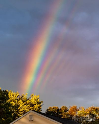 Rainbowception: Photographer Snaps Rare Supernumerary Rainbow