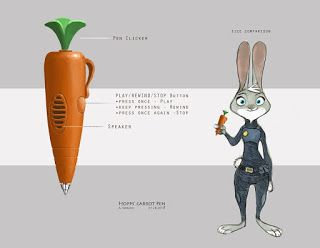 ZOOTOPIA Post 3: The Carrot Pen