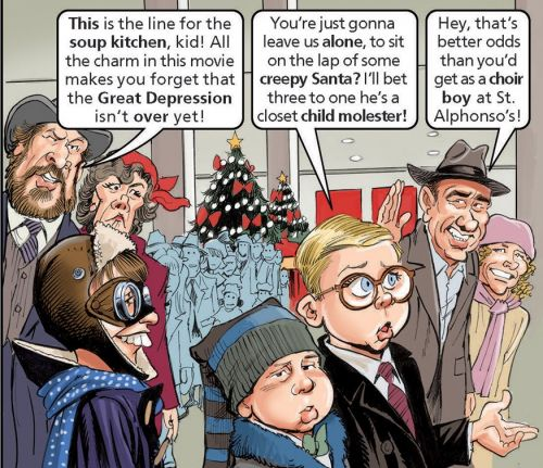 """A Surprise Cameo in MAD's """"A Christmas Story"""" Parody!"""
