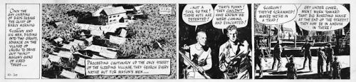 Scorchy Smith's Adventure Comic Strip Style Legacy