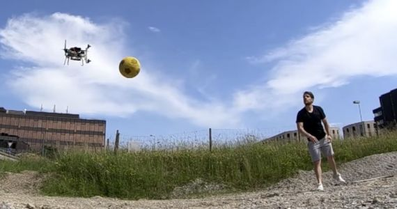 This Obstacle Avoiding Drone is So Fast it Can Play Dodgeball