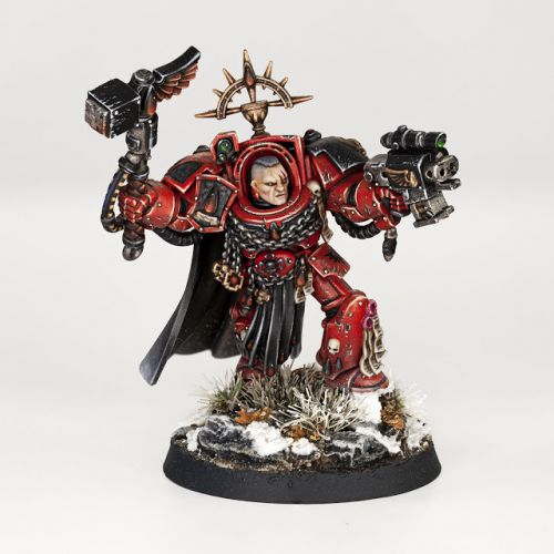 Showcase: Blood Angels Captain in Terminator Armour by Forest