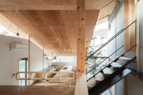 Eaves Around House / y+M design office