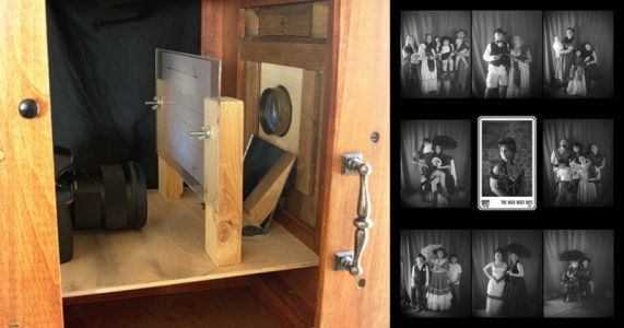 Digitizing a Reproduction 1865 Box Camera for Authentic Vintage Use