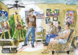 Monthly Artist Critique at Barefoot Spa