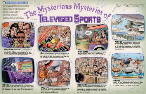 Monday MADness- Mysteries of Televised Sports!