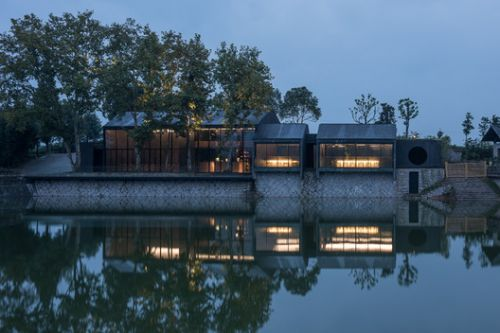 Damushan Valley Teahouse / DnA
