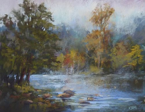 A Lunchtime Demo: Mist on the River!