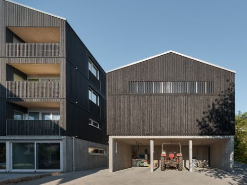 Housing and Workshop Weilerstraße / schleicher ragaller architects