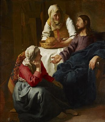 Please Allow Me to Bend Your Ear About St. Martha, My Patron