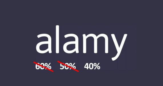 Alamy Cutting Commission from 50% to 40% for Its Stock Photographers