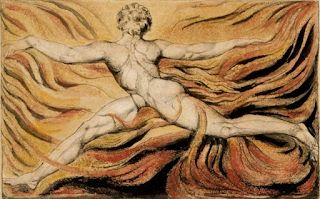 William Blake, Visionary and prophetic artist. Born on this day in 1757
