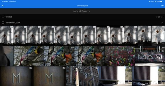 Adobe Finally Adds Direct Import and Advanced Export to Lightroom on iPad