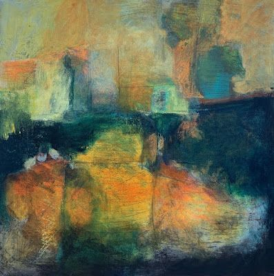"Contemporary Art, Abstract Painting, Modern Art ""ALTOGETHER SEPARATE"" by Portland Contemporary Artist Liz Thoresen"