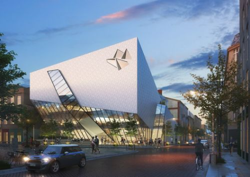 Daniel Libeskind Revives his Polish Hometown with the Łódź Architecture Center