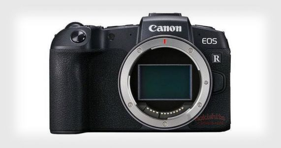 Canon EOS RP Revealed in Leaked Photos and Specs