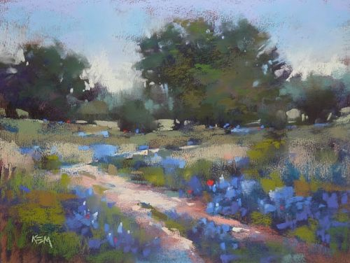 Why Choose a Blue Underpainting for Bluebonnets?