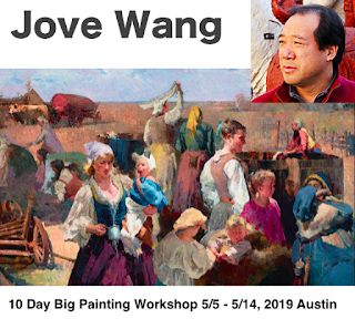 """Jove Wang's 10-day Big Painting Workshop"""