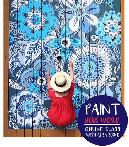 NEW CLASS! paint your world is open for registration