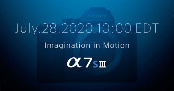 Sony Confirms a7S III Launch on July 28th, Here's What We Know So Far