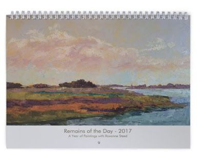 2017 Calendars Available - 2 new designs! Sketchbook or Oils!