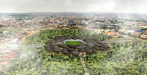 Competition-Winning Ideas for Multi-Purpose Stadiums on Former Lagos Landfill