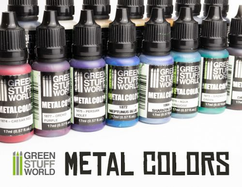 Review: Green Stuff World Metal Colors