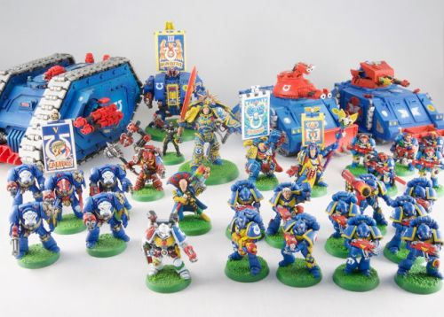 Showcase: Retro Second Edition Ultramarines by Rich