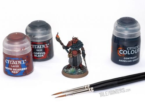 Tutorial: How to Paint the Scions of the Flame Warband