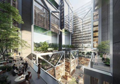 Foster + Partners Design Open-Air Office Tower for Taipei