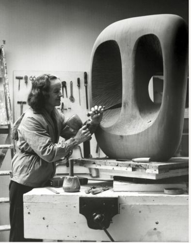 Barbara Hepworth, Born on this day in 1903