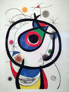 A visit to the Joan Miró museum in Barcelona