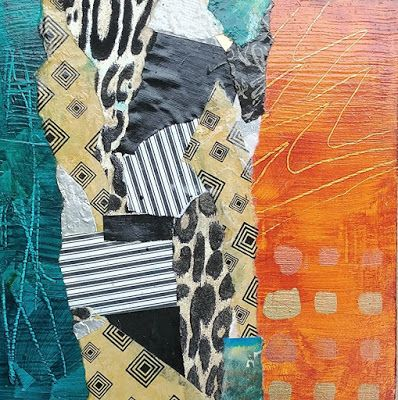 Mixed Media Painting, Abstract Expressionism, Contemporary Art