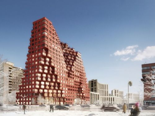 MVRDV Brings Minecraft to Life with RED7 Housing in Moscow