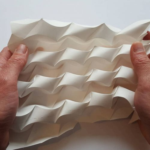 Malleable Paper Sculptures by Polly Verity Expand and Contract Into Mesmerizing Shapes
