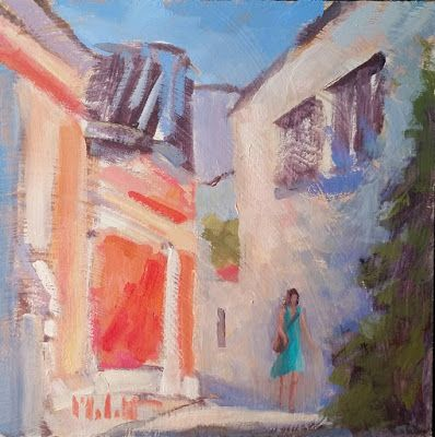 Contemporary Art Italy Original Oil Painting