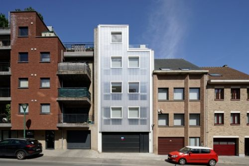 Korenbeek-161 Residential Building / Sill and Sound Architects
