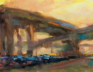 FREEWAY RUSH HOUR by TOM BROWN