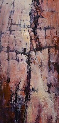 "Contemporary Art, Abstract,Mixed Media""NATIVESCAPE IN BEAUTY"" by Contemporary Artist Gerri Calpin"