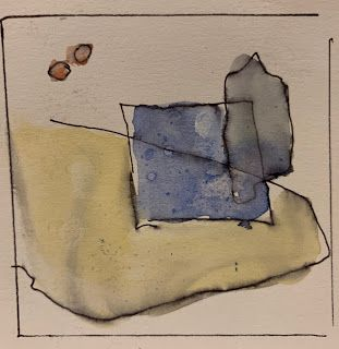 "Small ""Abstract"" Watercolors"
