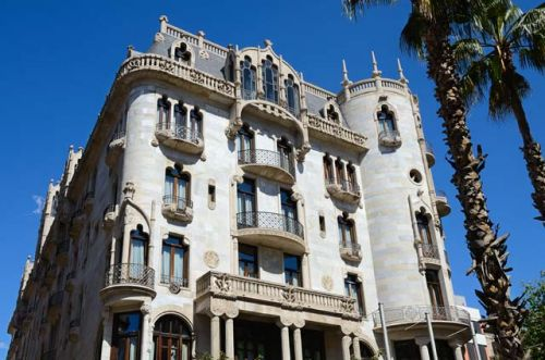 Grand Luxury Hotel Casa Fuster Modernist Landmark of Barcelona