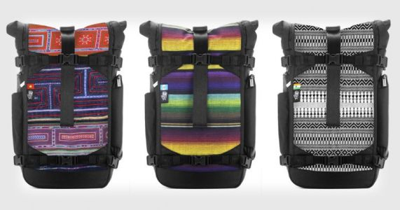ETK OPTIKS: Artisan Camera Bags with Traditional Handmade Textiles